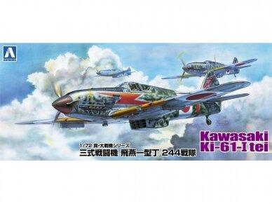 Aoshima - Kawasaki KI-61-I TEI, Mastelis: 1/72, 02342