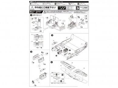 Aoshima - Kawasaki KI-61-I TEI, Mastelis: 1/72, 02342 8