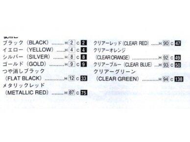 Aoshima - KAWASAKI ZEPHYRx, Mastelis: 1/12, 00402 11