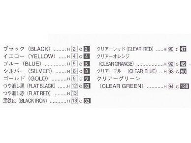 Aoshima - Kawasaki ZephyrX, Mastelis: 1/12, 04855 6