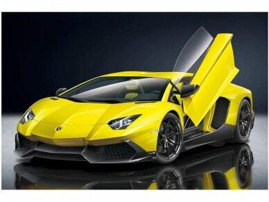 Aoshima - Lamborghini Aventador LP720-4 50 Anniversario Edition, Mastelis: 1/24, 01152 2