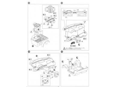 Aoshima - Lamborghini Aventador 50° Anniversario, 1/24, 05982 12