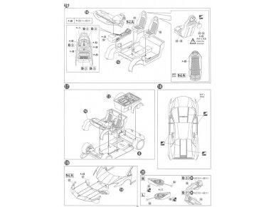 Aoshima - Lamborghini Aventador LP720-4 50 Anniversario Edition, Mastelis: 1/24, 01152 14