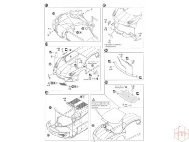 Aoshima - Lamborghini Aventador LP720-4 50 Anniversario Edition, Mastelis: 1/24, 01152 15