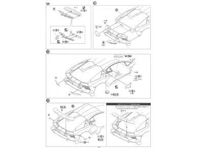 Aoshima - Lamborghini Aventador LP720-4 50 Anniversario Edition, Mastelis: 1/24, 01152 16