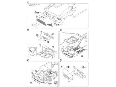Aoshima - Lamborghini Aventador LP720-4 50 Anniversario Edition, Mastelis: 1/24, 01152 17