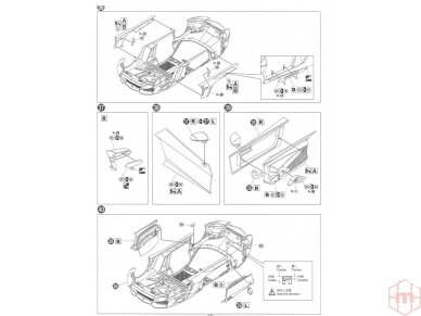 Aoshima - Lamborghini Aventador LP720-4 50 Anniversario Edition, Mastelis: 1/24, 01152 18