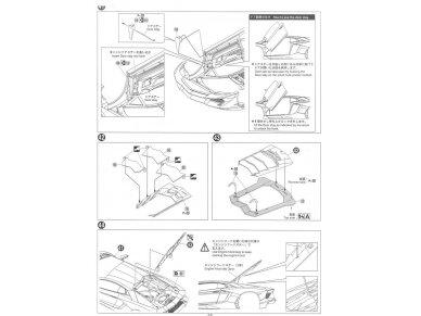 Aoshima - Lamborghini Aventador LP720-4 50 Anniversario Edition, Mastelis: 1/24, 01152 19