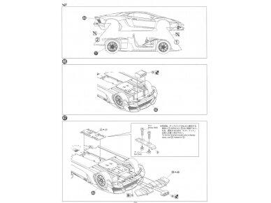 Aoshima - Lamborghini Aventador LP720-4 50 Anniversario Edition, Mastelis: 1/24, 01152 20