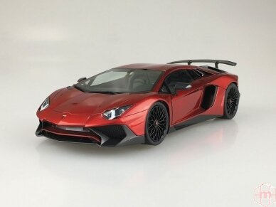 Aoshima - Lamborghini Aventador LP750-4 SV, Mastelis: 1/24, 05120 2