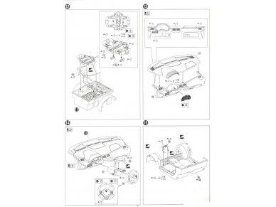 Aoshima - Lamborghini Aventador LP750-4 SV, Mastelis: 1/24, 05120 16