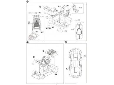 Aoshima - Lamborghini Aventador LP750-4 SV, Mastelis: 1/24, 05120 17