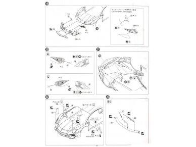 Aoshima - Lamborghini Aventador LP750-4 SV, Mastelis: 1/24, 05120 18