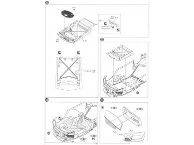 Aoshima - Lamborghini Aventador LP750-4 SV, Mastelis: 1/24, 05120 21