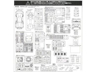 Aoshima - Lamborghini Aventador LP750-4 SV, Mastelis: 1/24, 05120 25