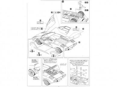 Aoshima - Lamborghini Countach Wolf, Mastelis: 1/24, 04960 13