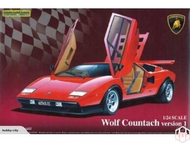 Aoshima - Lamborghini Countach Wolf, Mastelis: 1/24, 04960