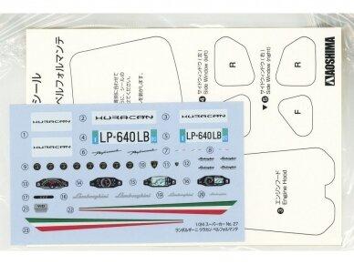 Aoshima - Lamborghini Huracan Performante, Mastelis: 1/24, 05600 10
