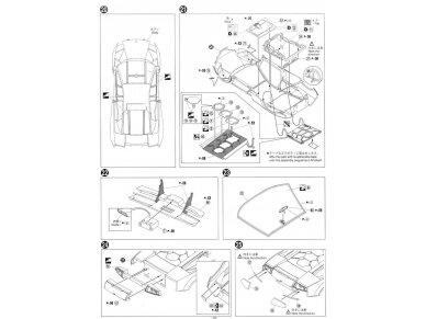 Aoshima - Lamborghini Murcielago LP670-4 SV, Mastelis: 1/24, 00708 15