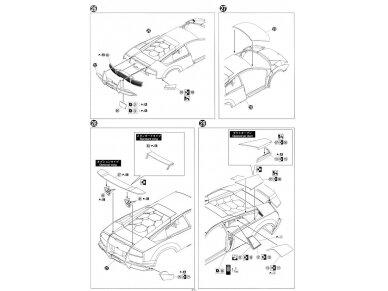 Aoshima - Lamborghini Murcielago LP670-4 SV, Mastelis: 1/24, 00708 16
