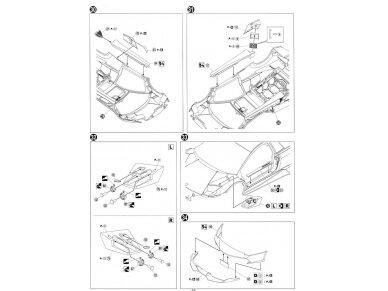 Aoshima - Lamborghini Murcielago LP670-4 SV, Mastelis: 1/24, 00708 17