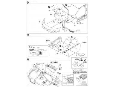 Aoshima - Lamborghini Murcielago LP670-4 SV, Mastelis: 1/24, 00708 18
