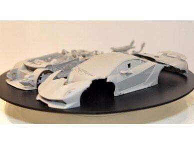 Aoshima - Lamborghini Sesto Elemento, Mastelis: 1/24, 01074 14
