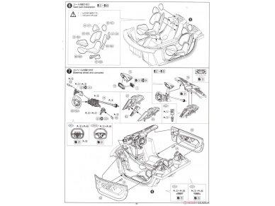 Aoshima - Lamborghini Sesto Elemento, Mastelis: 1/24, 01074 26