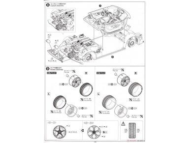 Aoshima - Lamborghini Sesto Elemento, Mastelis: 1/24, 01074 27