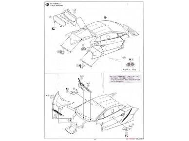 Aoshima - Lamborghini Sesto Elemento, Mastelis: 1/24, 01074 30