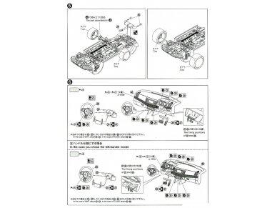 Aoshima - Mitsubishi Lancer Evolution X `07 Rallyart CZ4A, Mastelis: 1/24, 05544 11