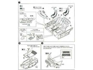 Aoshima - Mitsubishi Lancer Evolution X `07 Rallyart CZ4A, Mastelis: 1/24, 05544 12