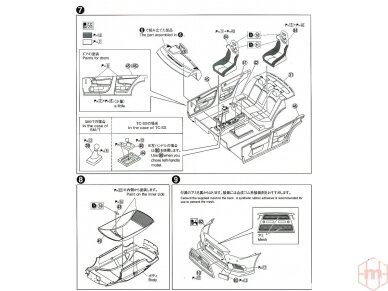 Aoshima - Mitsubishi Lancer Evolution X `07 Rallyart CZ4A, Scale: 1/24, 05544 12