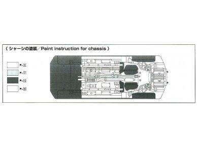 Aoshima - Mitsubishi Lancer Evolution X `07 Rallyart CZ4A, Mastelis: 1/24, 05544 9