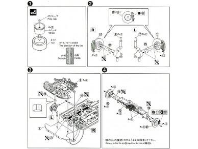 Aoshima - Mitsubishi Lancer Evolution X `07 Rallyart CZ4A, Mastelis: 1/24, 05544 10