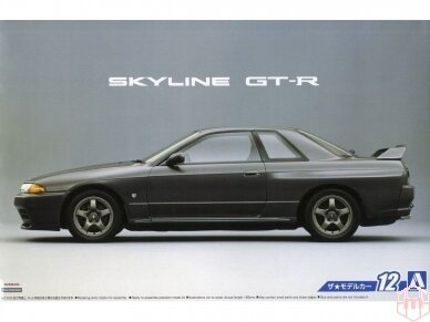 Aoshima - Nissan BNR32 Skyline GT-R '89, Mastelis: 1/24, 05163