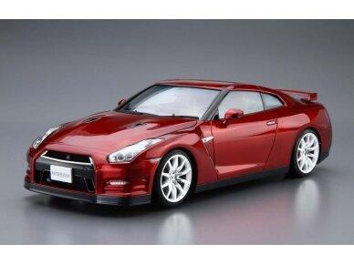 Aoshima - Nissan R35 GT-R pure edition 2014, Mastelis: 1/24, 05154 2