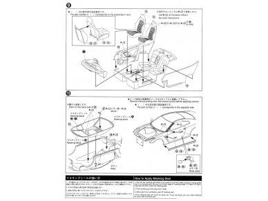 Aoshima - Nissan R35 GT-R pure edition 2014, Mastelis: 1/24, 05154 16