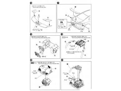Aoshima - Nissan R35 GT-R pure edition 2014, Mastelis: 1/24, 05154 18
