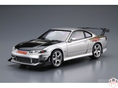 Aoshima - Nissan Top Secret S15 Silvia `99, Mastelis: 1/24, 05355 2