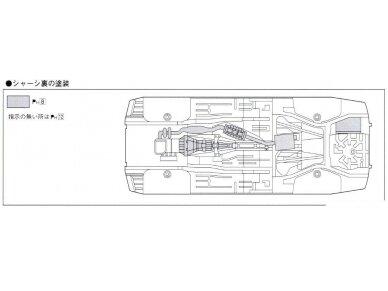 Aoshima - Nissan Top Secret S15 Silvia `99, Mastelis: 1/24, 05355 11