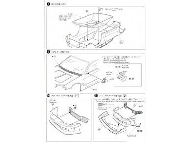 Aoshima - Nissan Top Secret S15 Silvia `99, Mastelis: 1/24, 05355 15