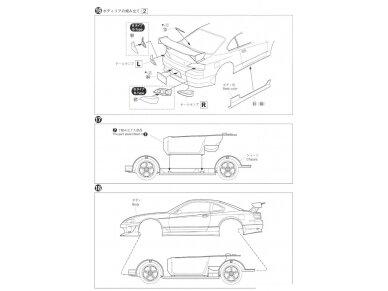 Aoshima - Nissan Top Secret S15 Silvia `99, Mastelis: 1/24, 05355 17