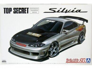 Aoshima - Nissan Top Secret S15 Silvia `99, Mastelis: 1/24, 05355 4