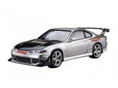 Aoshima - Nissan Top Secret S15 Silvia `99, Mastelis: 1/24, 05355 5