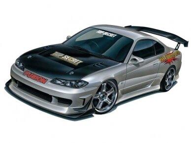 Aoshima - Nissan Top Secret S15 Silvia `99, Mastelis: 1/24, 05355 6