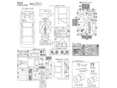 Aoshima - Silvia Impul Turbo Silhouette, Mastelis: 1/24, 05830 13