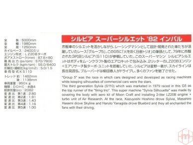 Aoshima - Silvia Impul Turbo Silhouette, 1/24, 05830 3