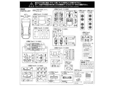 Aoshima - Subaru GRB Impreza WRX STI, Mastelis: 1/24, 05834 8