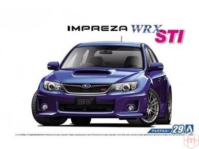 Aoshima - Subaru GRB Impreza WRX STI, Scale: 1/24, 05834